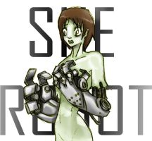 she robot by TOTOPO