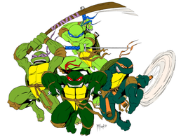 Teenage Mutant Ninja Turtles - Millard by bigdaddylasvegas