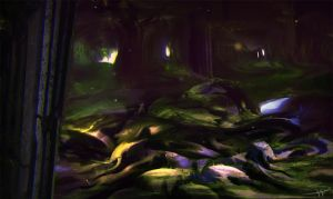 Inner Outter Cave Sanctum by HowlSeage