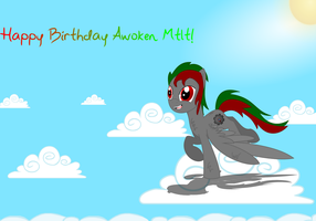 HAPPY FREAKING BIRTHDAY AWOKEN! by TronicMusic