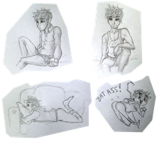 Tinychat sketches by Japandragon