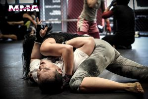 MMA - Mixed Martial Arts. Girls can beat Guys! by teuung