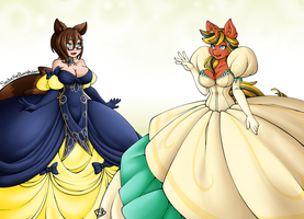 Dress Exchange by SeductiveBunneh