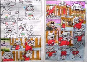 My bunny comic part 1 by davidcool1989