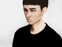 do kyungsoo by Uhcrone