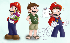 more marios by Rainmaker113