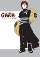 Gaara by darklord977