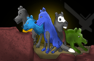 1000 views: wolf noble team by wolf117M