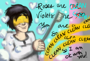 A Very Clean Valentine by MacabreAustereRelume