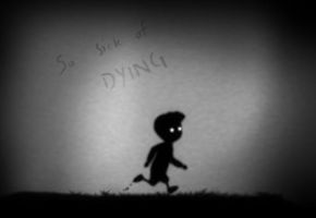 So sick of dying... by KitaMoth