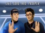 Live long and prosper - D.Who x Star Trek by Ondjage
