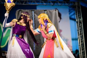 Princess struggle by luna-ishtarcosplay