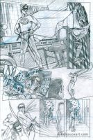 Self-Portrait Comic pencils by Maxahiss