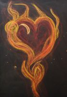 Burning Heart by Roky320
