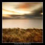 Grass, water and sky by yyan