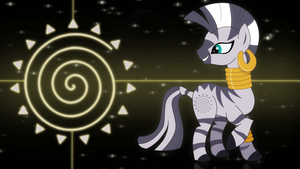 Zecora wallpaper by Elsdrake