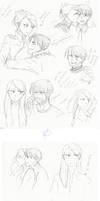 Royai sketches by Equestrian-Equine