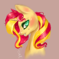 Sunset Shimmer by Saoiirse