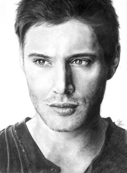 Jensen Ackles by cpss
