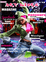 Couverture d'un magazine fictif by IIIcarus