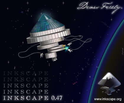 Inkscape 0.47 About Screen by jfbarraud