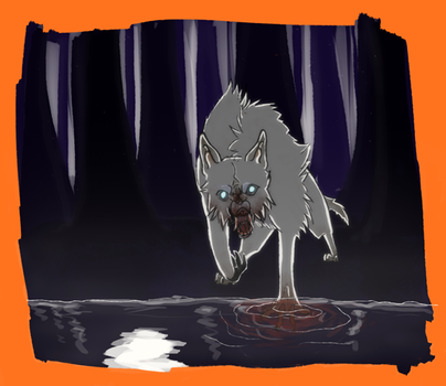 Werewolf by chickiefootwo