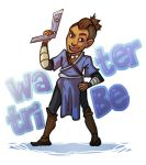 Sokka Sticker by lesliesketch