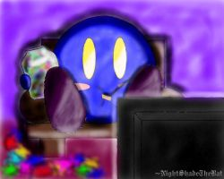 Meta Knight's Day off by NightShadeTheBat
