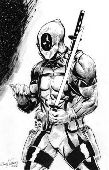 Deadpool Versus Inks 2016 by RNABrandEnt