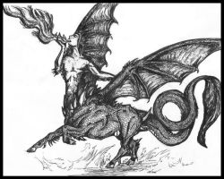 Dragon Being Submission by 1pen