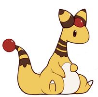 Pudding Ampharos by HappyCrumble