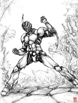 Guyver X by Rawbot