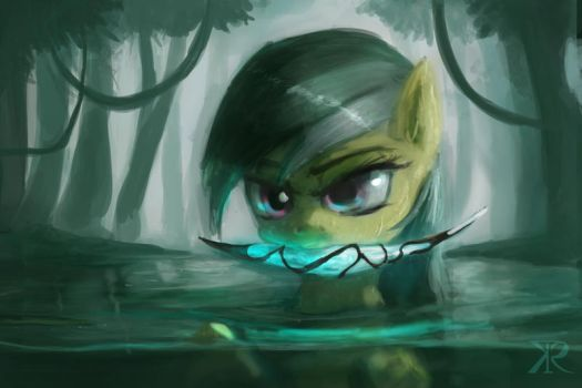Daring Do and the relic by Raikoh-illust