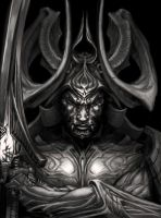 Demon Samurai Redux by angotti81