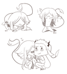 Chibis Of The Fabulous Gilbert by angelmermaid
