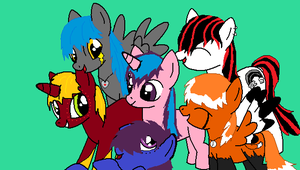 Me and The Bronies 2 by WildFox-Jade
