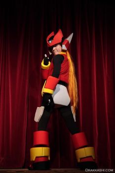 Cosplay - Zero from Megaman Zero series (4) by Drakkashi