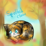 sottedclaw in the fall by MooncloudKitty