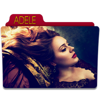 Adele Folder Icon 2 by gterritory