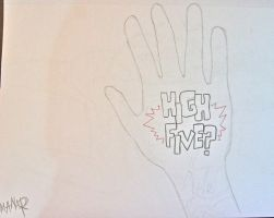 HIGH FIVE ? by Mrmr-Hearts-Every1