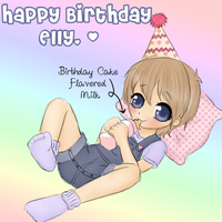 Happy Birthday Elliot by Pastel-Hime