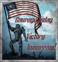 Courage Today Victory Tomorrow by MarkuzR