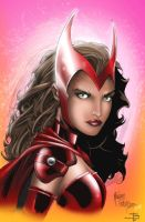 Scarlet Witch by JeffieB