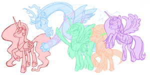 Legends of Equestria: Preview #001 by hcontrary