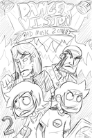 Chapter/Issue 2 sketch by nasakii