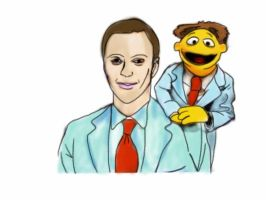 Jim Parsons Is A Muppet by IMC89