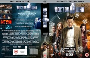 DOCTOR WHO SERIES 7 DVD COVER by MrPacinoHead