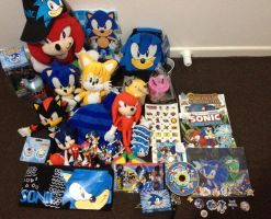 Sonic the Hedgehog Items FOR SALE Points n' Paypal by Proasha