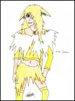 Gijinka: Jolteon by Sayue