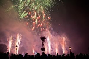 Epcot Illuminations Stock 53 by AreteStock
